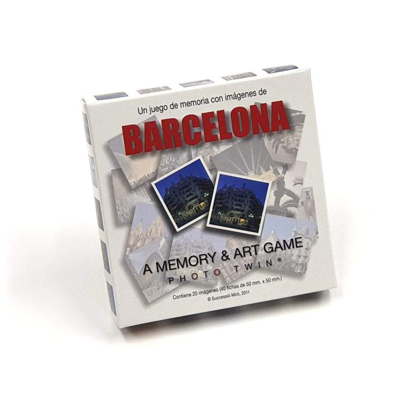 Juego Memoria Barcelona