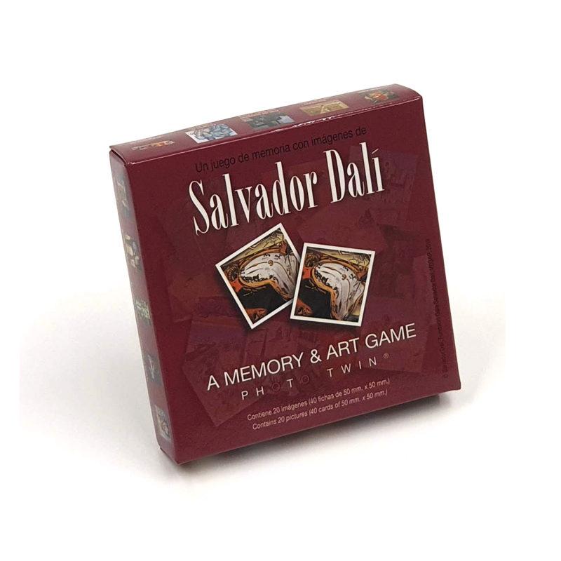 Juego Memoria Salvador Dalí