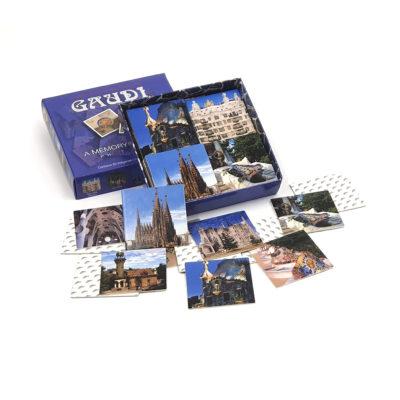 Juego Memoria Gaudí