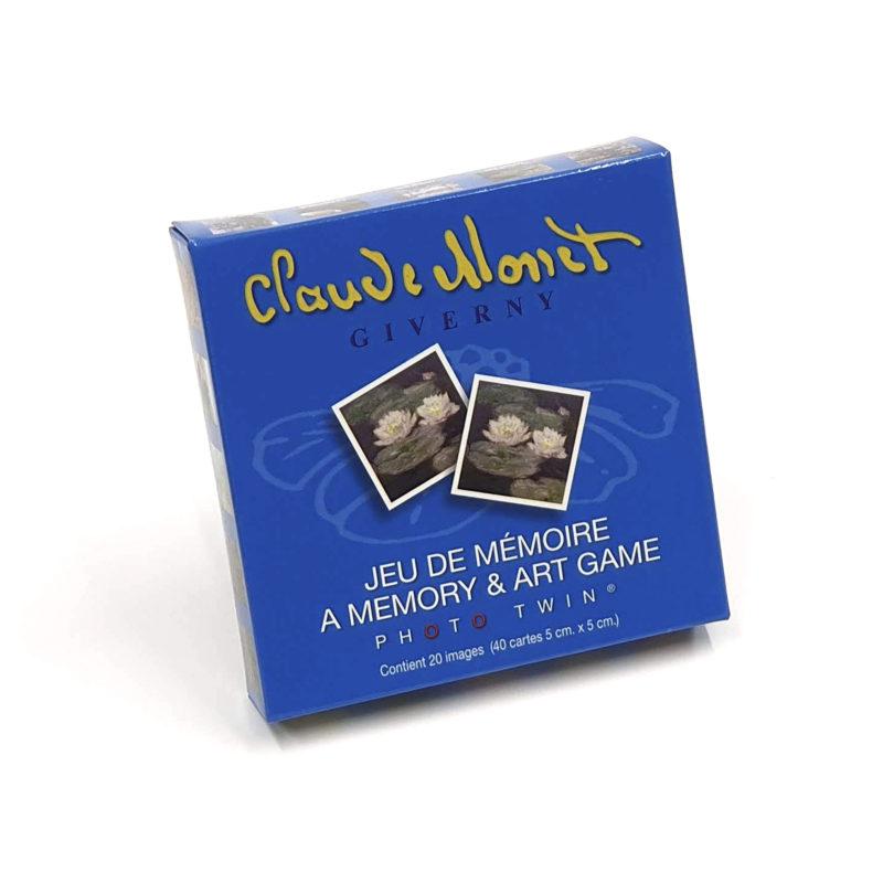 Juego de Memoria Claude Monet