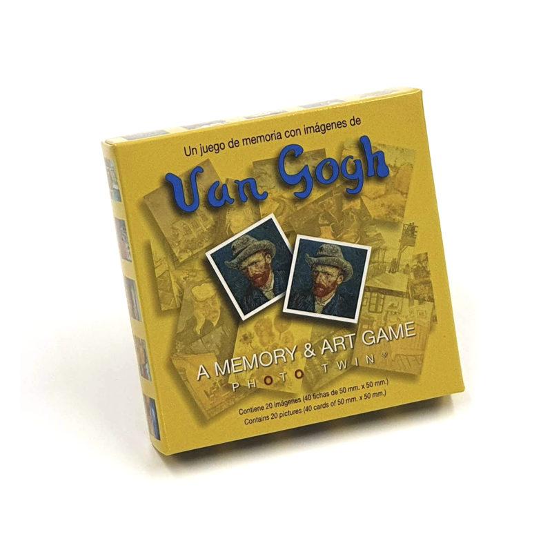 Juego de Memoria Vincent van Gogh