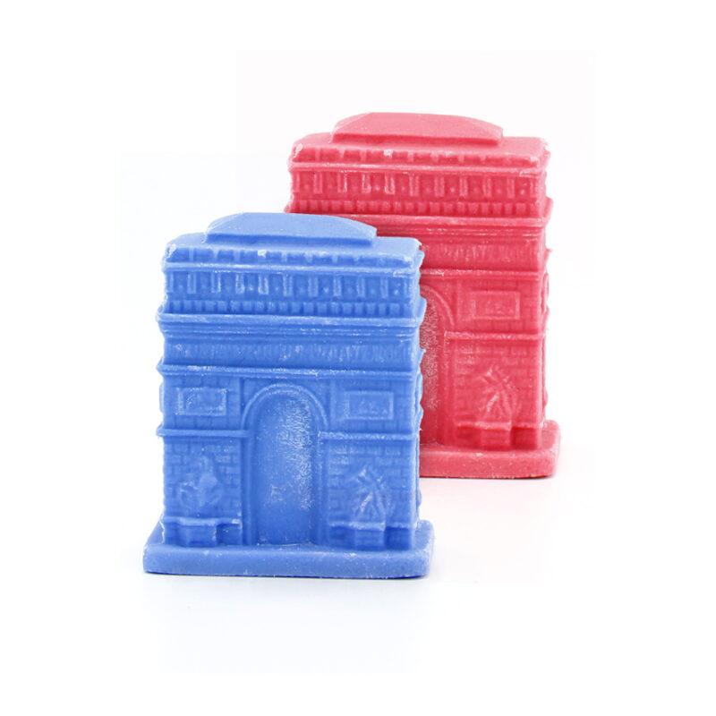 Arco del Triunfo azul/roja